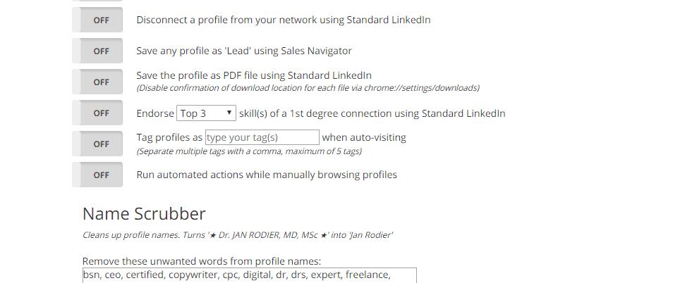 Linkedin Email List Builder
